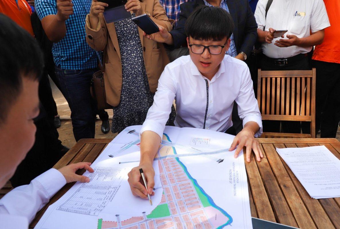 nguyen phu duc Chính thức bàn giao đất dự án Khu dân cư Hòa Lân cho Kim Oanh Group