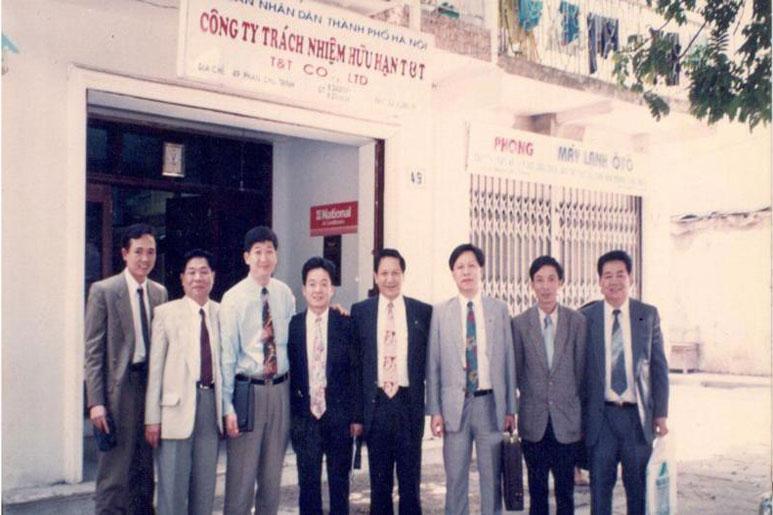 T&T thành lập tại Hâ Nội