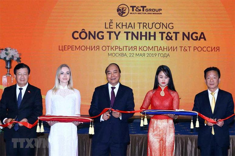 thu tuong du khai truong tt T&T Group và dấu ấn 25 năm phát triển thành tập đoàn nghìn tỷ